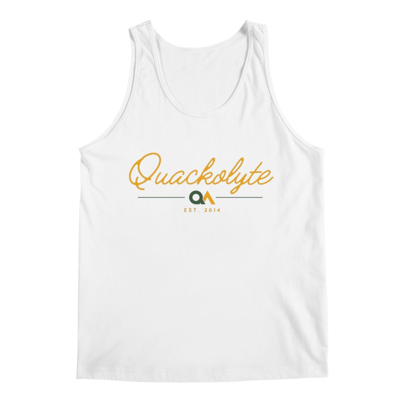 The Quackolyte Men's Regular Tank by The Quack Attack