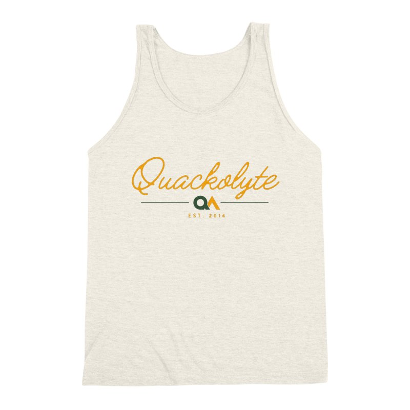 The Quackolyte Men's Triblend Tank by The Quack Attack