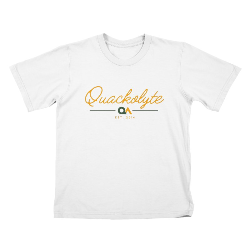 The Quackolyte Kids T-Shirt by The Quack Attack