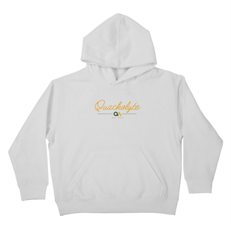 The Quackolyte Kids Pullover Hoody by The Quack Attack