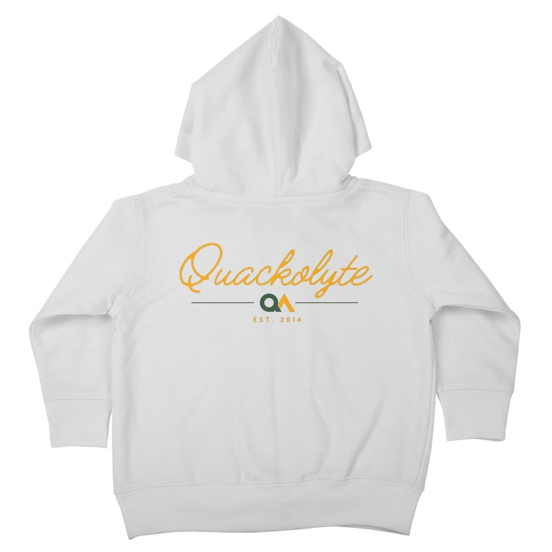 The Quackolyte Kids Toddler Zip-Up Hoody by The Quack Attack