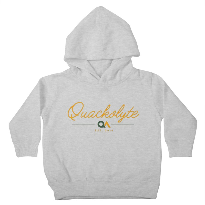 The Quackolyte Kids Toddler Pullover Hoody by The Quack Attack