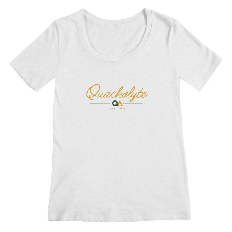 The Quackolyte Women's Scoopneck by The Quack Attack