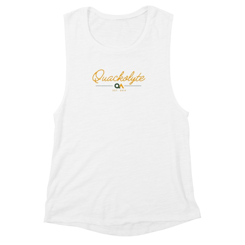 The Quackolyte Women's Muscle Tank by The Quack Attack