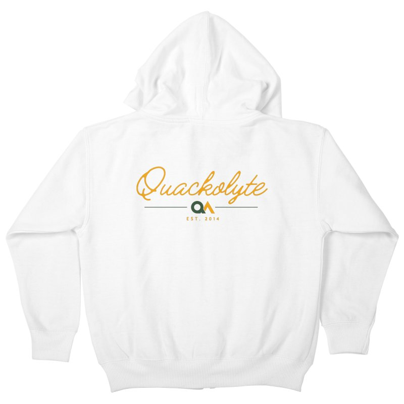 The Quackolyte Kids Zip-Up Hoody by The Quack Attack