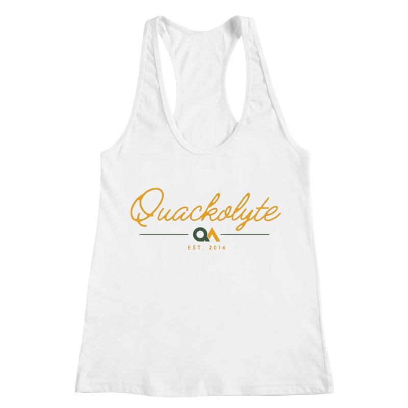 The Quackolyte Women's Racerback Tank by The Quack Attack