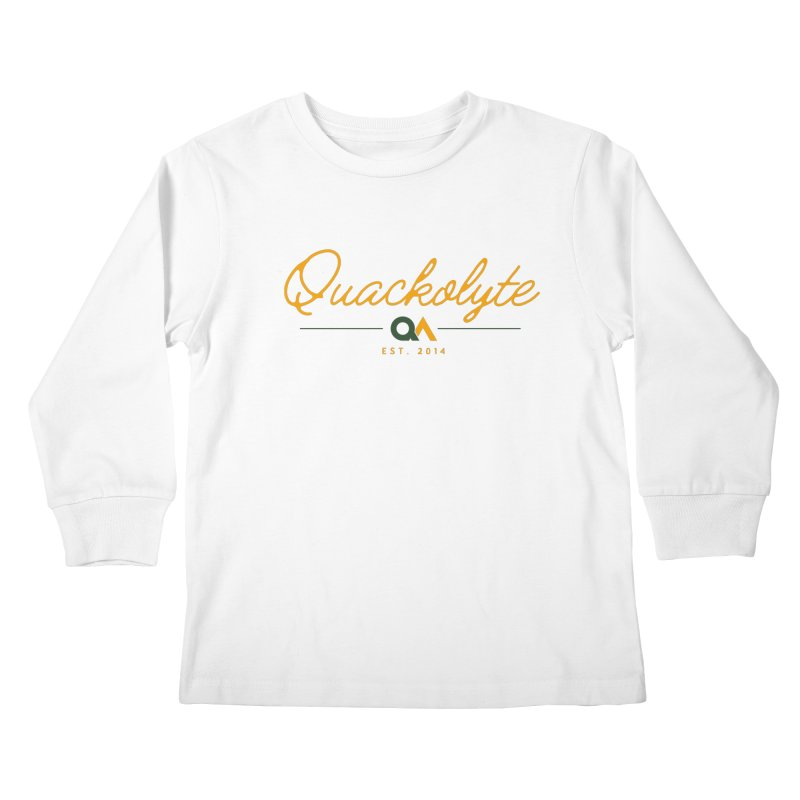 The Quackolyte Kids Longsleeve T-Shirt by The Quack Attack