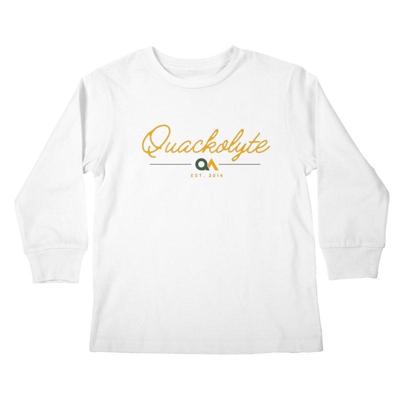 The Quackolyte Kids Longsleeve T-Shirt by The Quack Attack