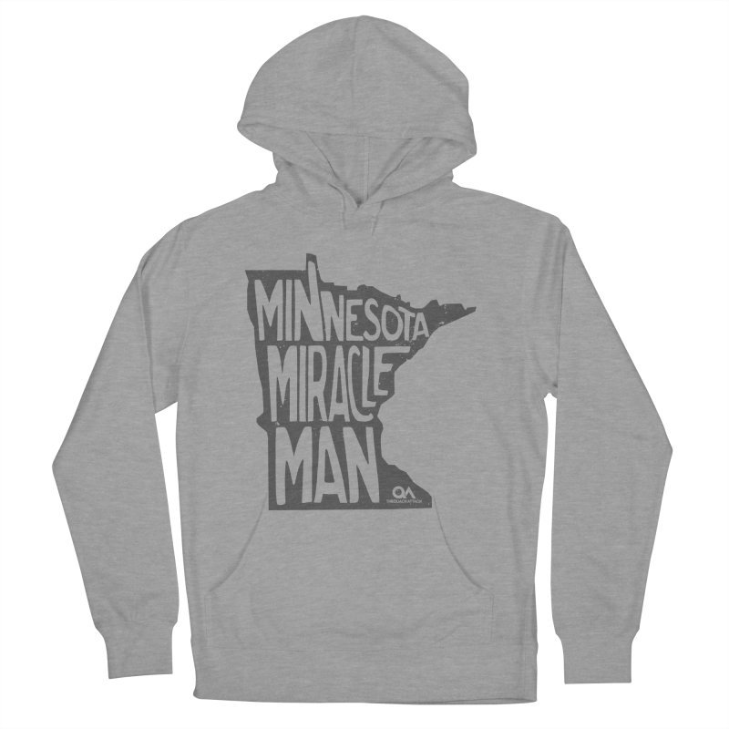 The Minnesota Miracle Man | Light Men's Pullover Hoody by The Quack Attack