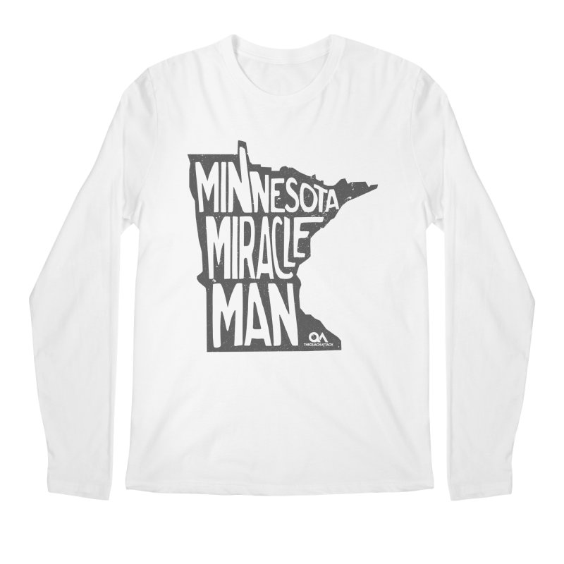 The Minnesota Miracle Man | Light Men's Regular Longsleeve T-Shirt by The Quack Attack