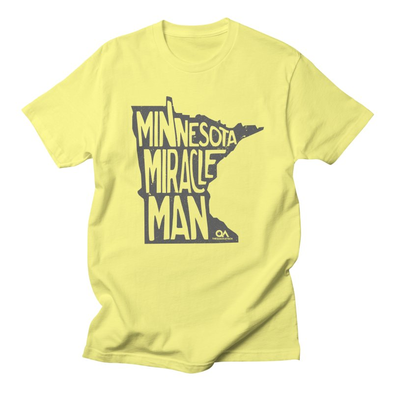 The Minnesota Miracle Man | Light Men's T-shirt by The Quack Attack