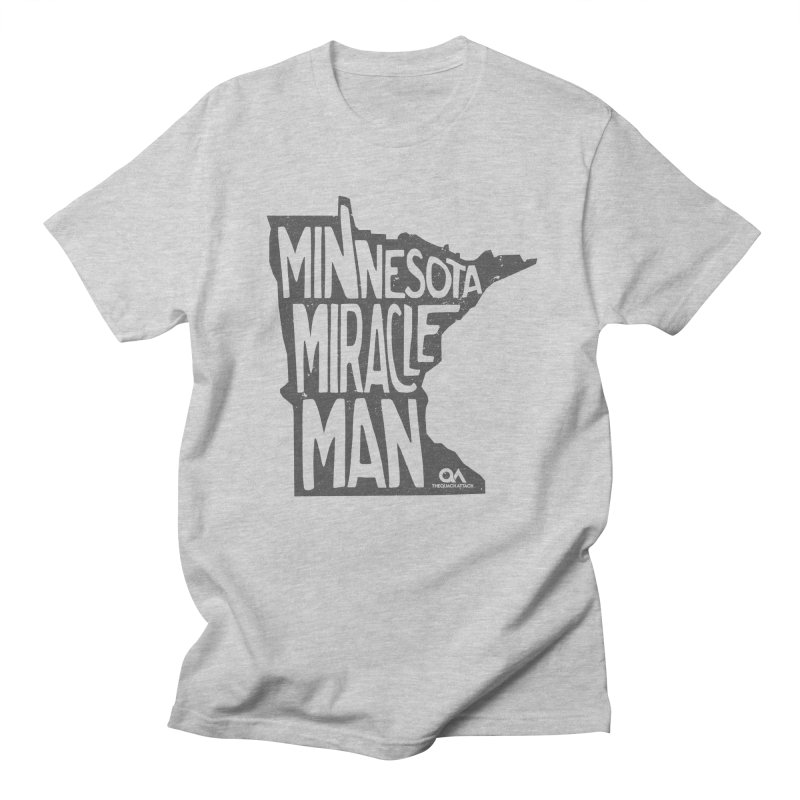 The Minnesota Miracle Man | Light Men's Regular T-Shirt by The Quack Attack