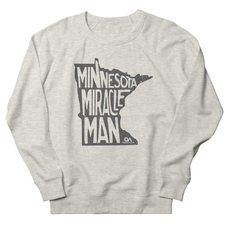 The Minnesota Miracle Man | Light Men's Sweatshirt by The Quack Attack