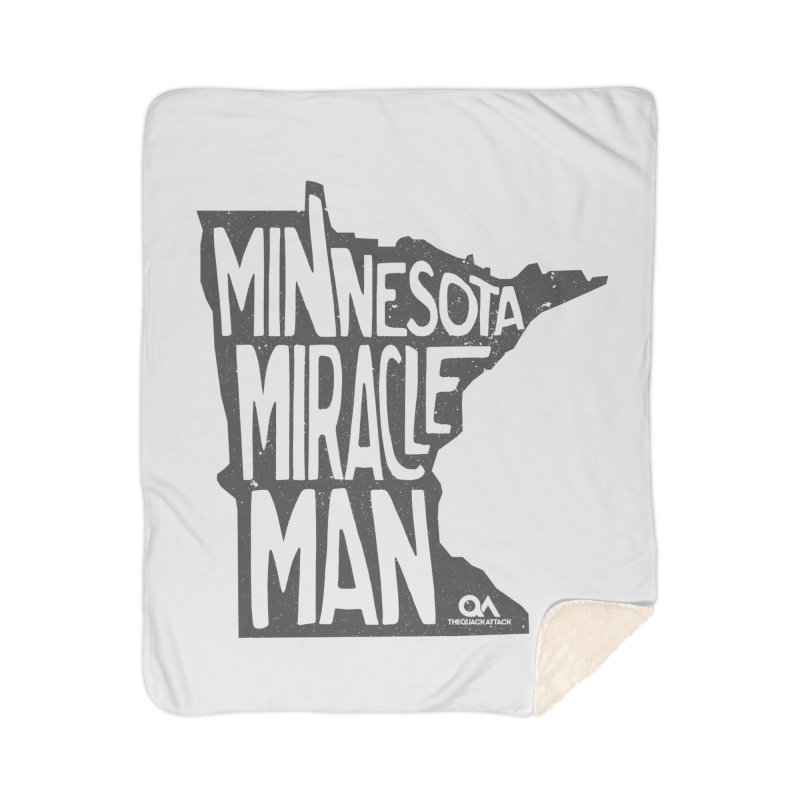 The Minnesota Miracle Man | Light Home Blanket by The Quack Attack