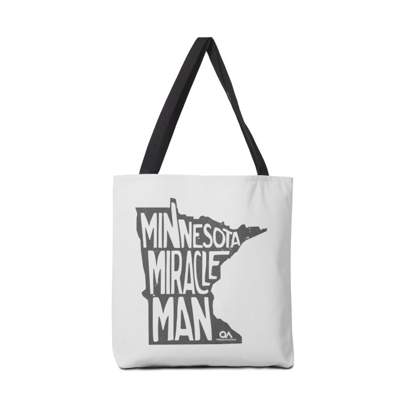 The Minnesota Miracle Man | Light Accessories Tote Bag Bag by The Quack Attack