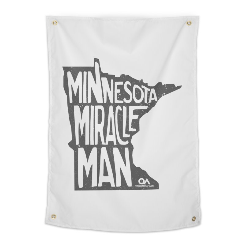 The Minnesota Miracle Man | Light Home Tapestry by The Quack Attack