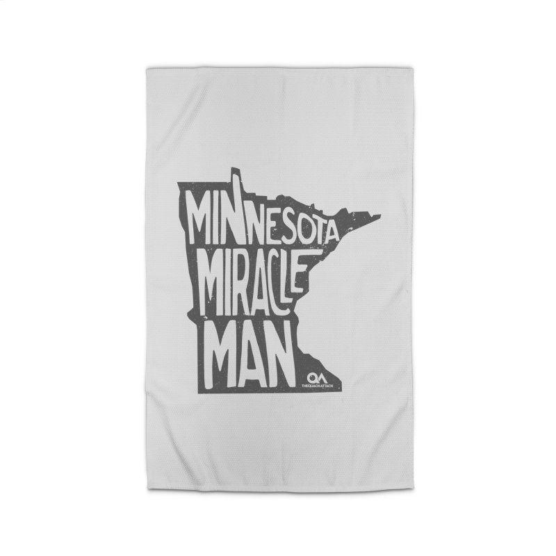 The Minnesota Miracle Man | Light Home Rug by The Quack Attack