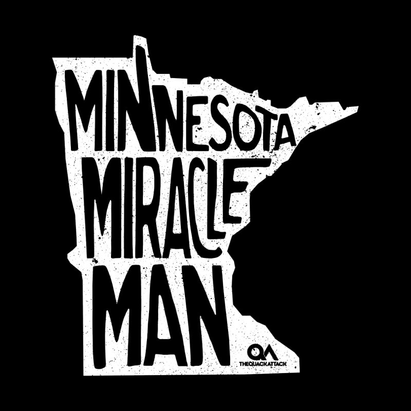 The Minnesota Miracle Man | Dark Men's Triblend T-shirt by The Quack Attack