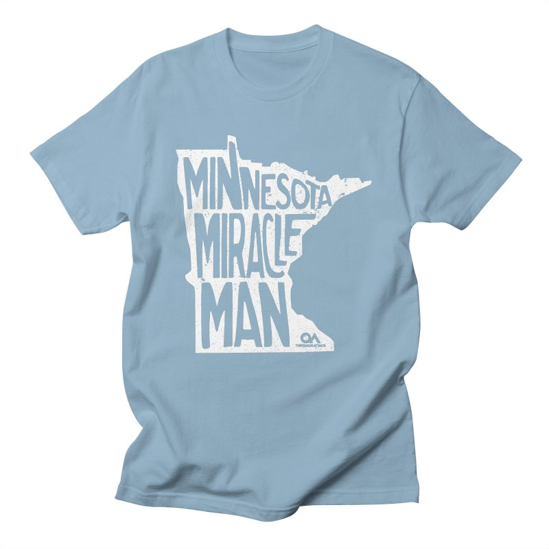 The Minnesota Miracle Man   Dark Men's T-Shirt by The Quack Attack