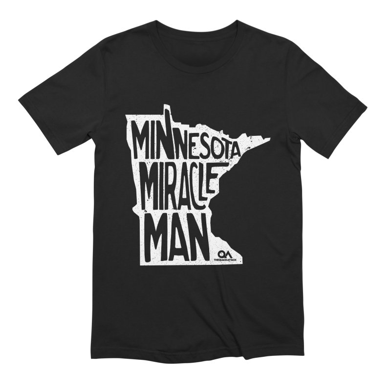 The Minnesota Miracle Man | Dark Men's Extra Soft T-Shirt by The Quack Attack