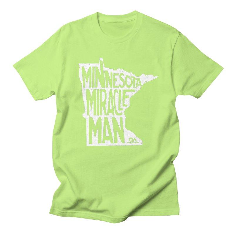 The Minnesota Miracle Man | Dark Men's Regular T-Shirt by The Quack Attack