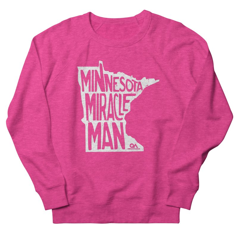 The Minnesota Miracle Man   Dark Men's Sweatshirt by The Quack Attack