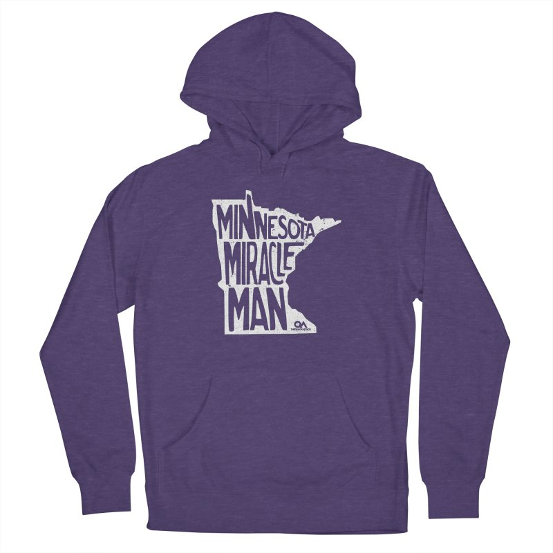 The Minnesota Miracle Man   Dark Men's Pullover Hoody by The Quack Attack