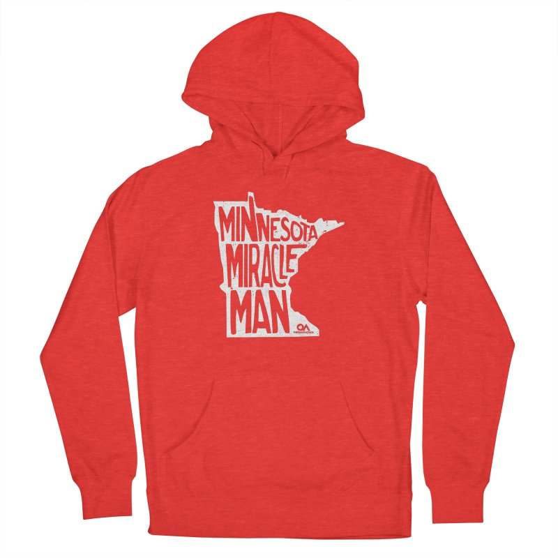 The Minnesota Miracle Man | Dark Men's Pullover Hoody by The Quack Attack