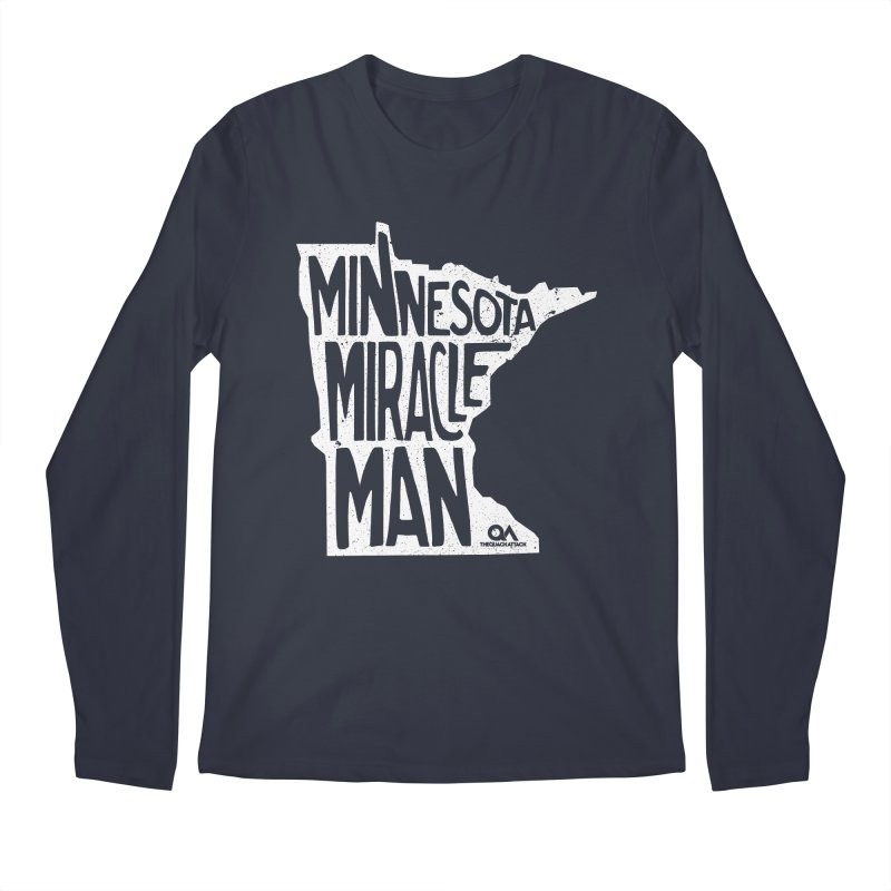 The Minnesota Miracle Man | Dark Men's Longsleeve T-Shirt by The Quack Attack