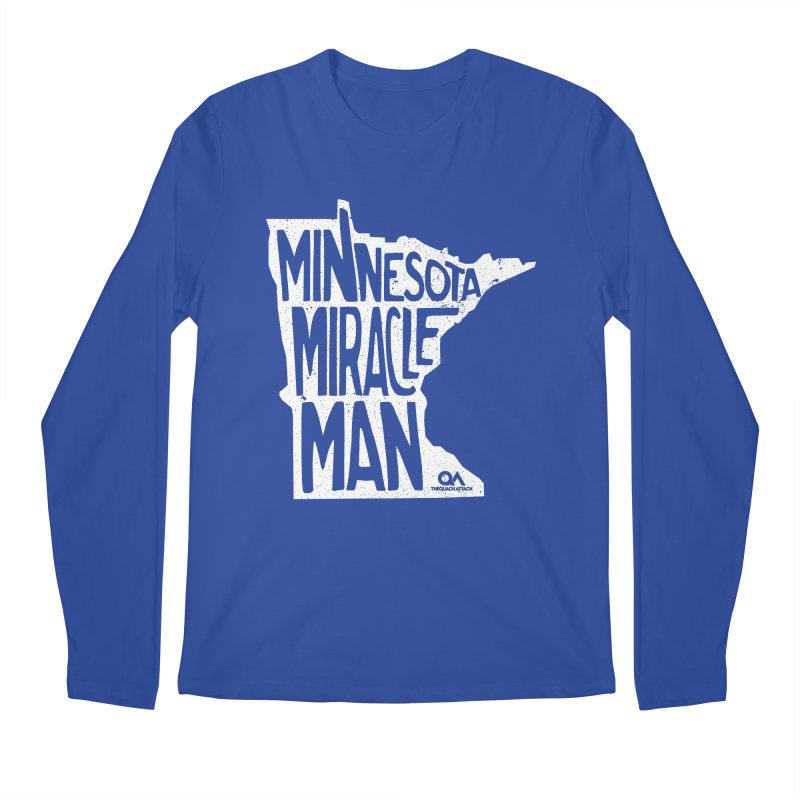 The Minnesota Miracle Man | Dark Men's Regular Longsleeve T-Shirt by The Quack Attack