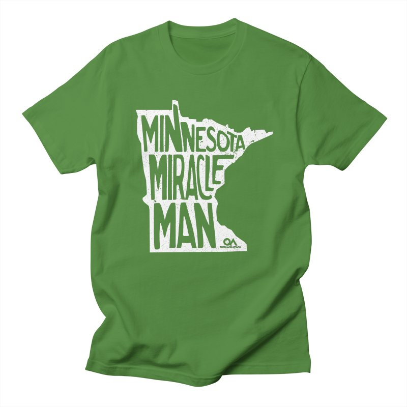 The Minnesota Miracle Man | Dark Men's Regular T-Shirt by The Quack Attack