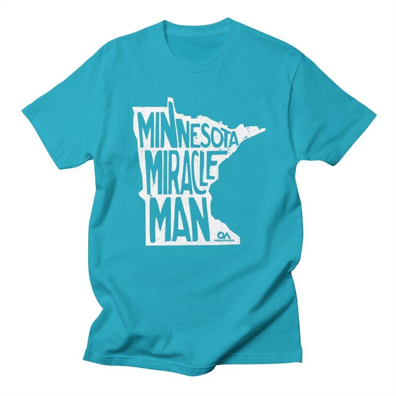The Minnesota Miracle Man   Dark Men's Regular T-Shirt by The Quack Attack