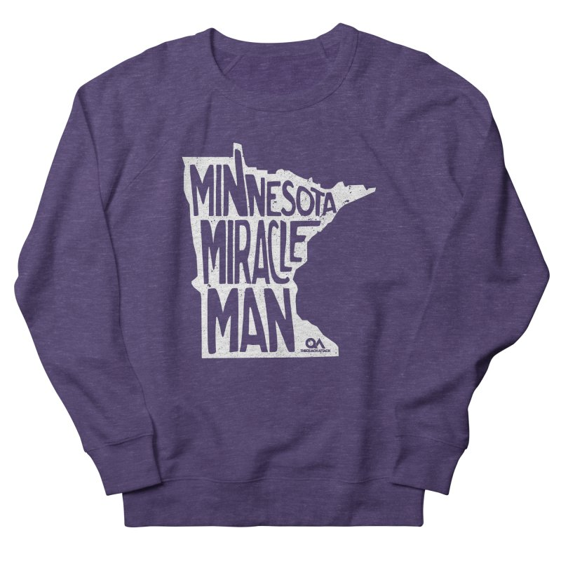 The Minnesota Miracle Man | Dark Women's French Terry Sweatshirt by The Quack Attack