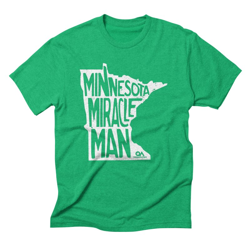 The Minnesota Miracle Man | Dark Men's T-Shirt by The Quack Attack