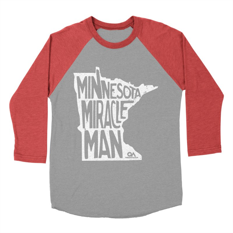 The Minnesota Miracle Man | Dark Women's Baseball Triblend T-Shirt by The Quack Attack