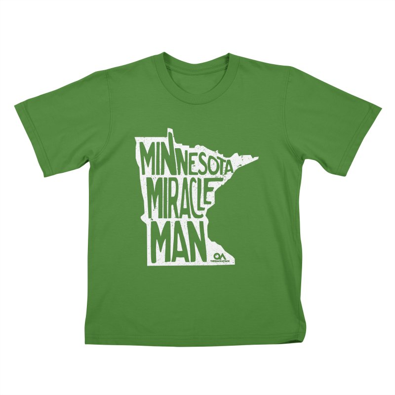 The Minnesota Miracle Man | Dark Kids T-shirt by The Quack Attack