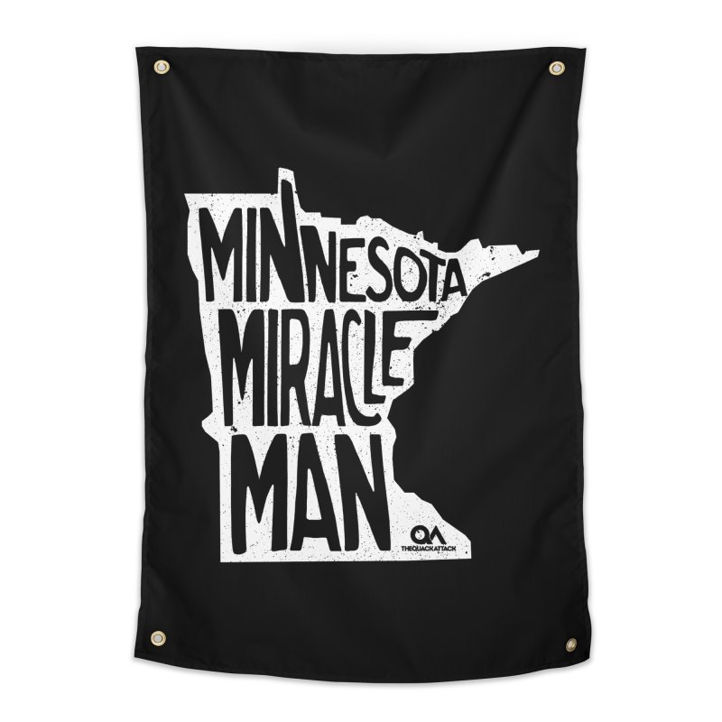 The Minnesota Miracle Man | Dark Home Tapestry by The Quack Attack