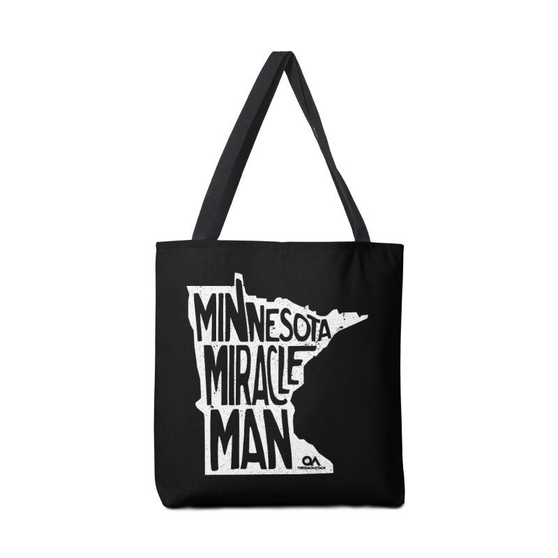 The Minnesota Miracle Man | Dark Accessories Tote Bag Bag by The Quack Attack