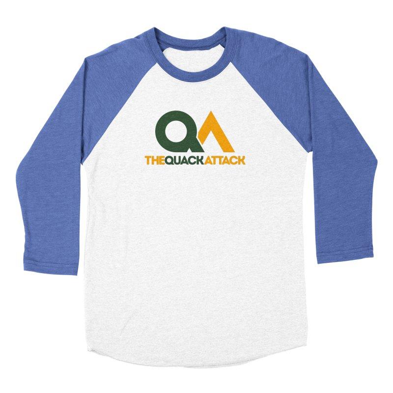The Quack Attack Women's Baseball Triblend Longsleeve T-Shirt by The Quack Attack