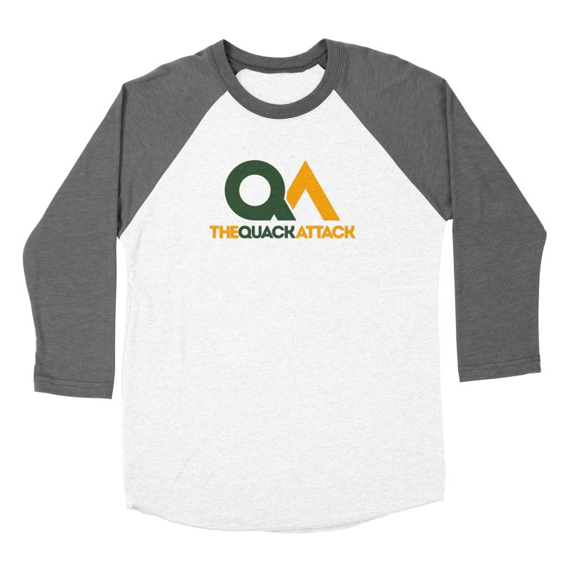 The Quack Attack Men's Baseball Triblend Longsleeve T-Shirt by The Quack Attack