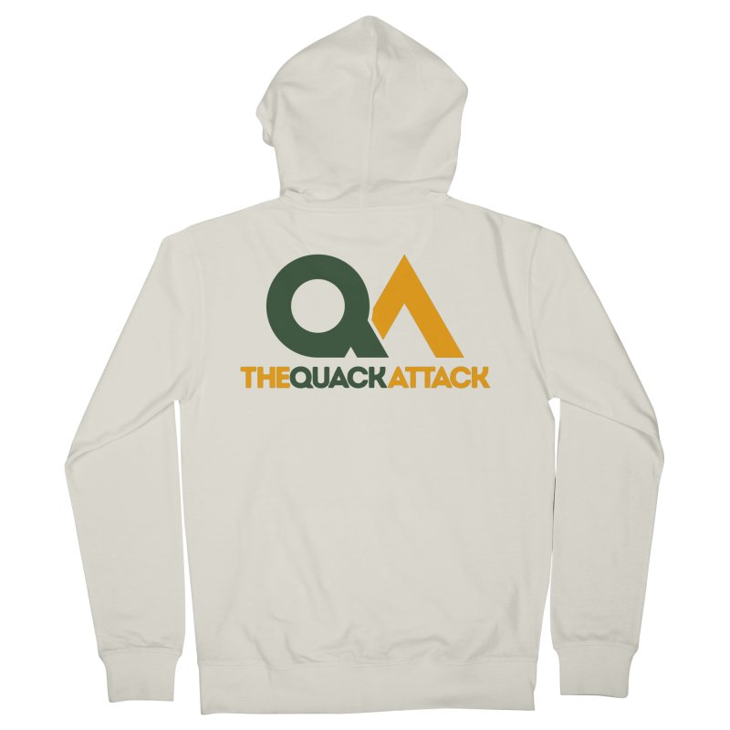 The Quack Attack Men's French Terry Zip-Up Hoody by The Quack Attack