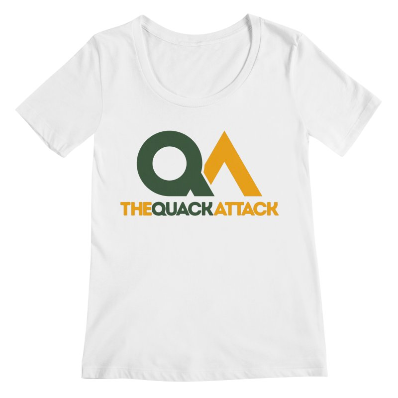 The Quack Attack Women's Regular Scoop Neck by The Quack Attack