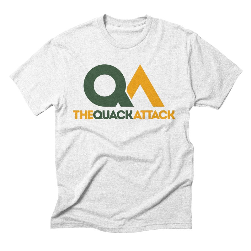 The Quack Attack Men's Triblend T-shirt by The Quack Attack