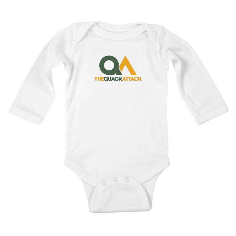 The Quack Attack Kids Baby Longsleeve Bodysuit by The Quack Attack