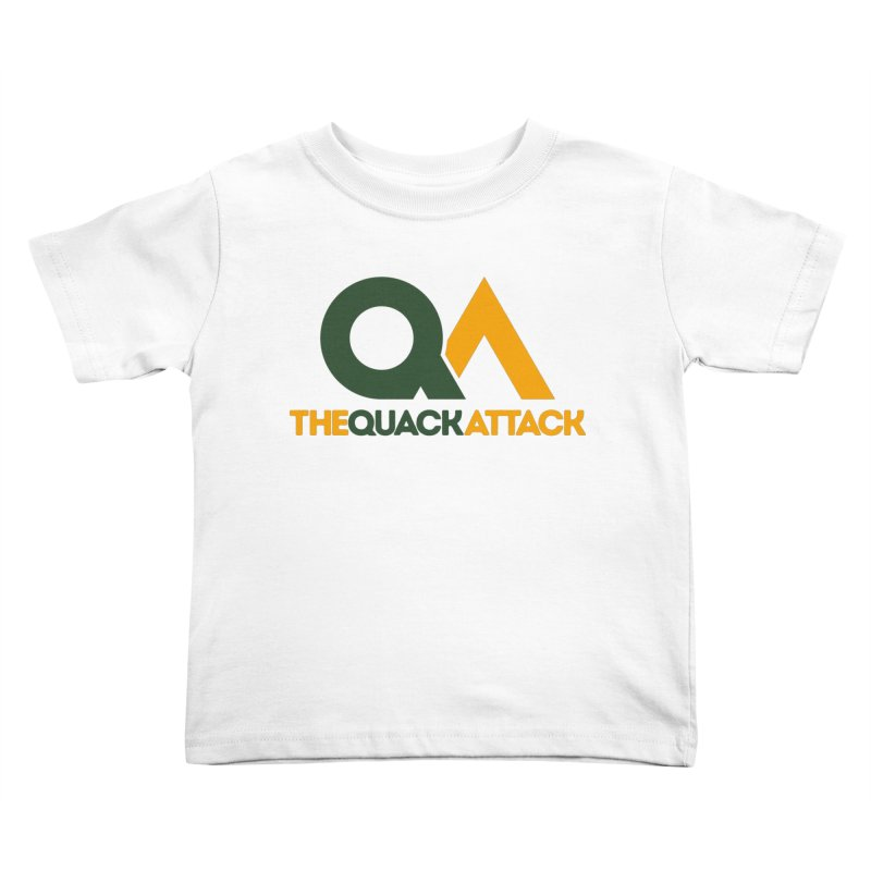 The Quack Attack Kids Toddler T-Shirt by The Quack Attack