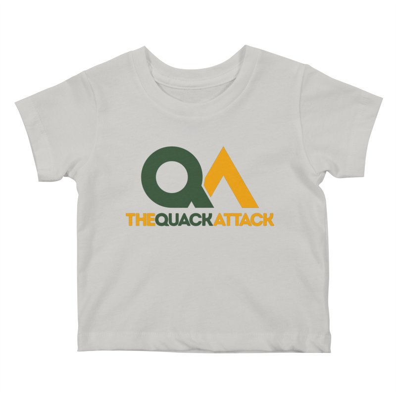 The Quack Attack Kids Baby T-Shirt by The Quack Attack