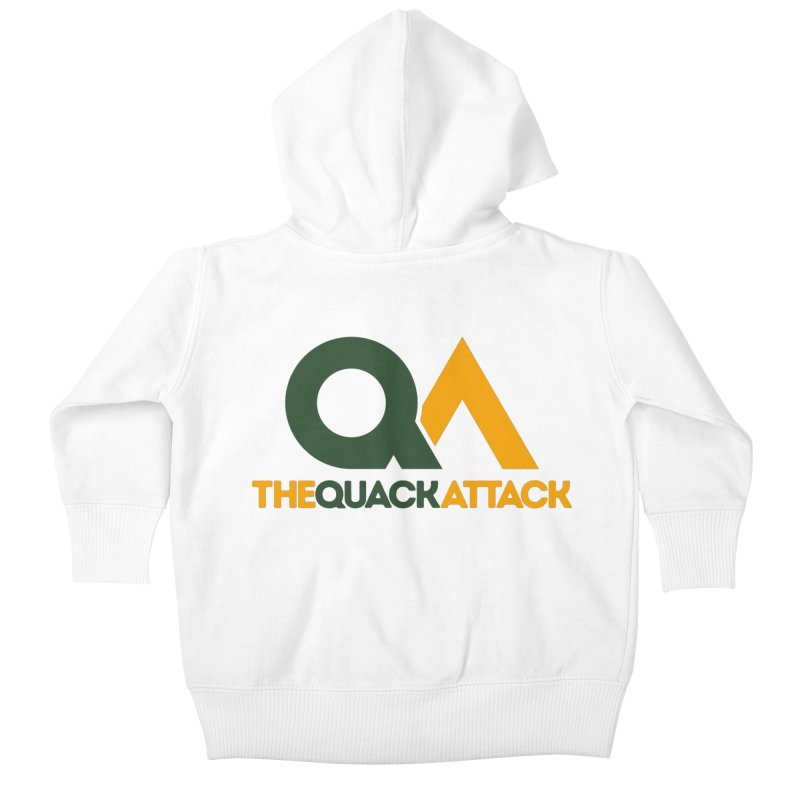 The Quack Attack Kids Baby Zip-Up Hoody by The Quack Attack