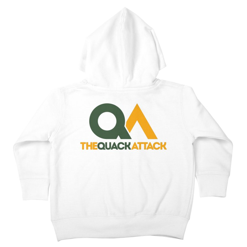 The Quack Attack Kids Toddler Zip-Up Hoody by The Quack Attack