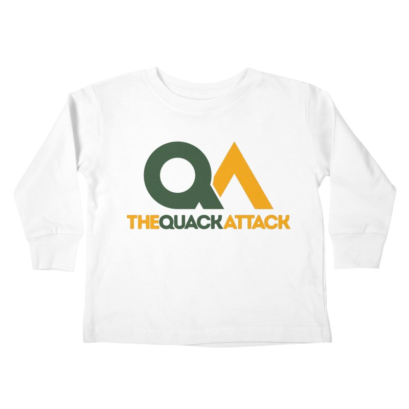 The Quack Attack Kids Toddler Longsleeve T-Shirt by The Quack Attack
