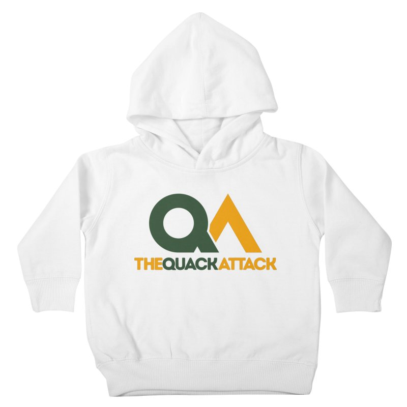The Quack Attack Kids Toddler Pullover Hoody by The Quack Attack